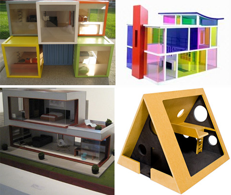 Playful Minitecture 15 Ultra Modern Dollhouse Designs