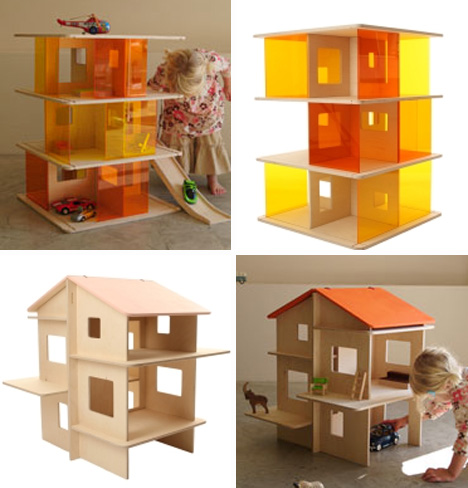 momoll ding and rayray modern dollhouses