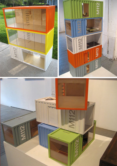 paris renfroe designs container home dollhouse