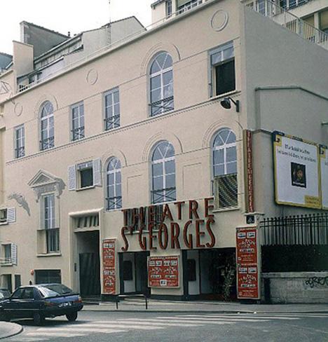 paris saint george theatre dominique antony