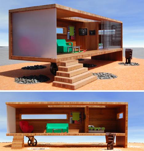 prefab modularean eco dollhouse