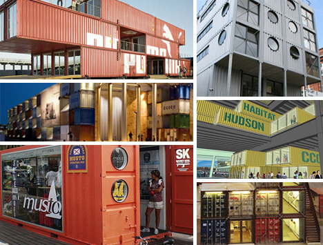 Working It: 30 Cargo Container Offices, Stores and Businesses via WebUrbanist