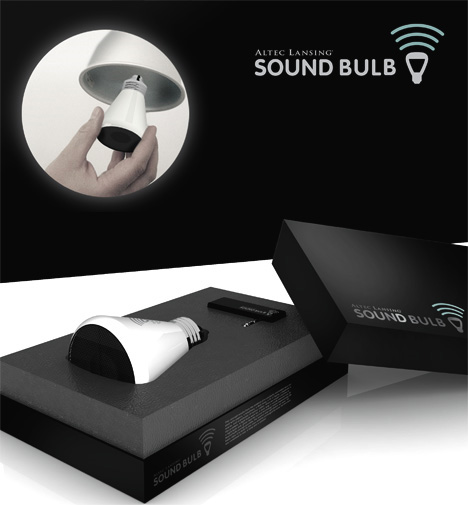 sound bulb speaker design