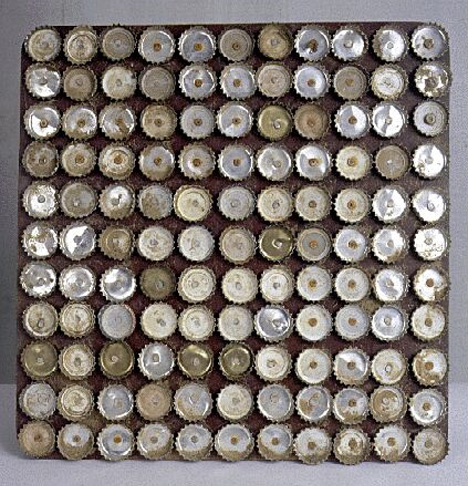 soviet inventions beer cap doormat
