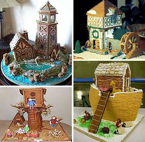 Tree House Cake Designs