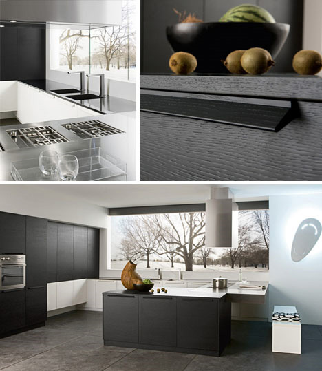 black-and-white-modern-kitchen