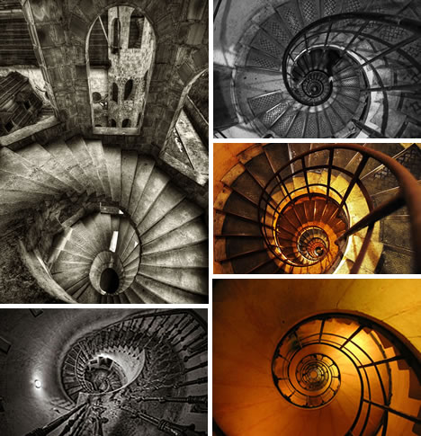 Architectural Art: Photos Of 101 Dizzying Spiral Staircases