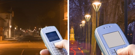Dial4Light: Turning Street Lights On Via Mobile Phone
