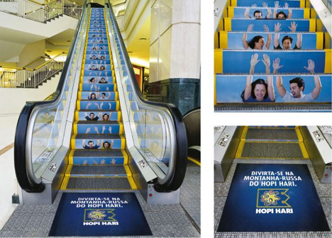 Stupendous Steps: 15 Great Escalator & Stair Ads | Urbanist
