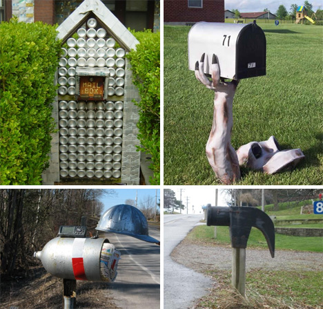 Special Delivery: 54 Amazing & Unusual Mailbox Designs | WebUrbanist