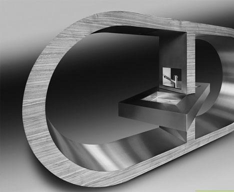 ultramodern-steel-kitchen