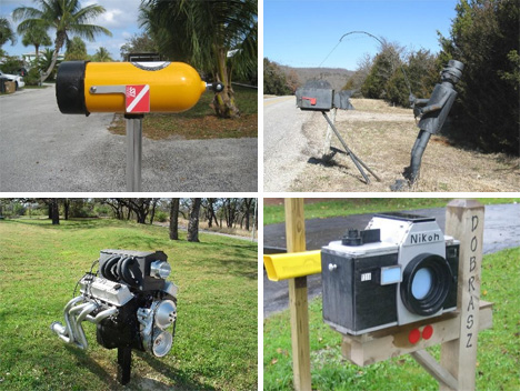 special delivery 54 amazing unusual mailbox designs