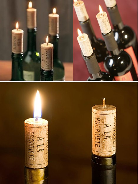Warning hot wax 13 cool candles to light your fire for Fun things to do with wine bottles