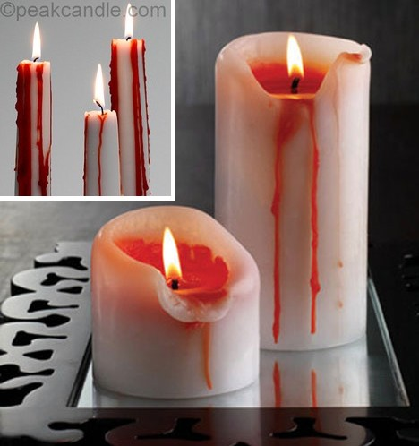 Warning hot wax 13 cool candles to light your fire for Cool candlesticks