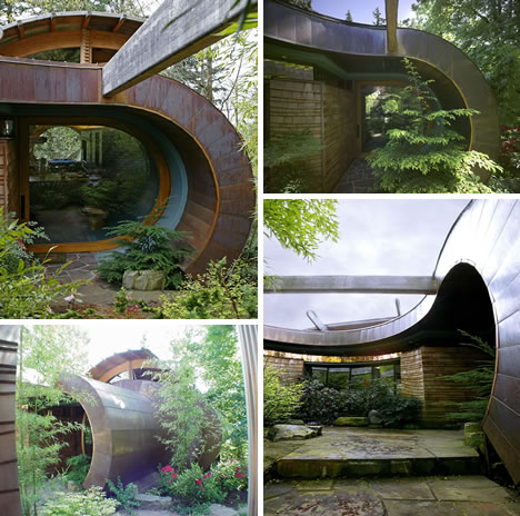 Wowsa Organic Architect Oshatz S Wilkinson Treehouse
