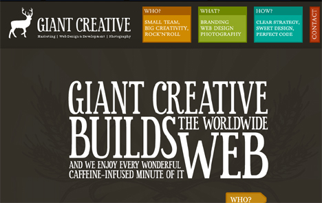 Winsome Words: 18 Examples of Typography in Web Design | Urbanist