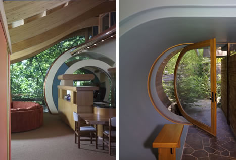 Organic Architect Robert Oshatz's Wowsa Wilkinson Treehouse