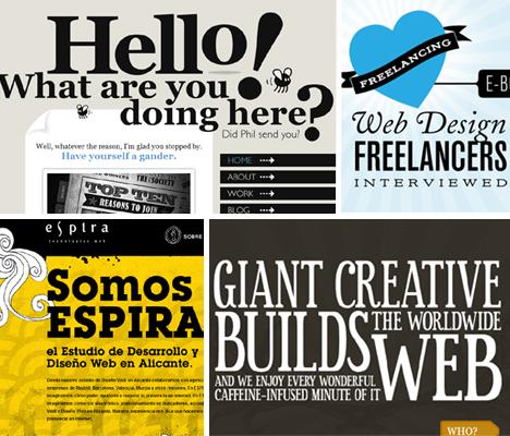 Web Design Is 95 Typography