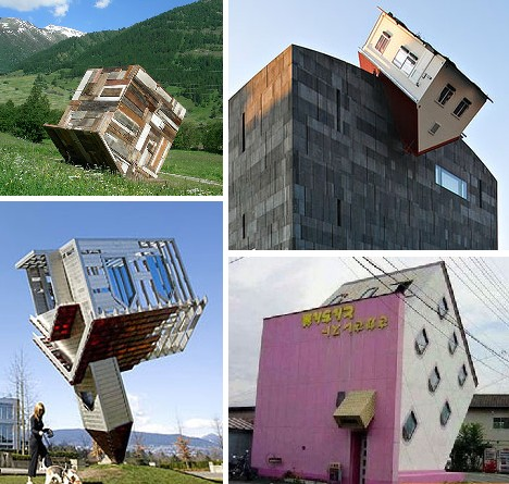 10 Unbelievable Upside Down Houses