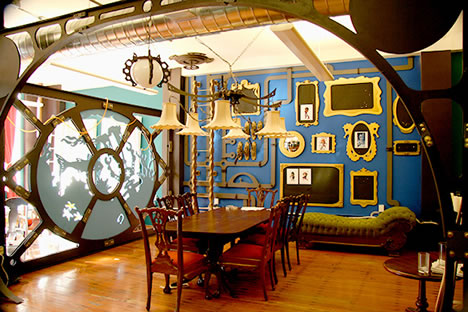 15 high dollar hacks steampunk home hacks vehicle mods for Steampunk house design
