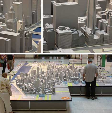 Itty bitty cities 22 models that miniaturize the world for Miniature architecture