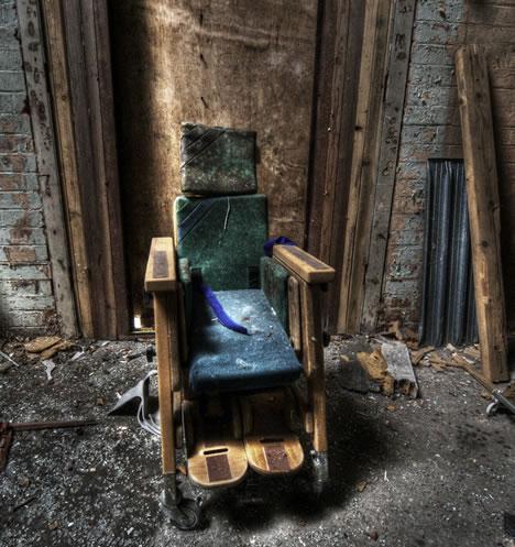 Mental Hospital Room Chair