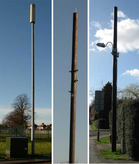 Light Pole Design: Faux-ny Phone Towers: Cleverly Concealed Cellular Sites