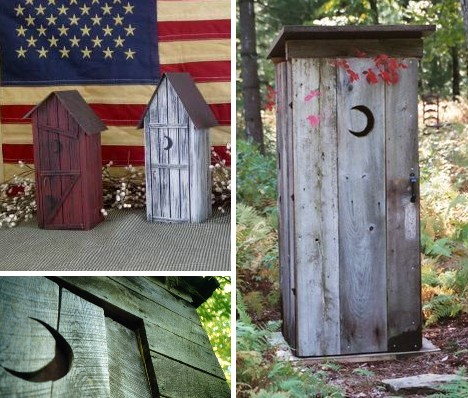Tremendous Outstanding In Their Field 10 Outrageous Outhouses Urbanist Largest Home Design Picture Inspirations Pitcheantrous