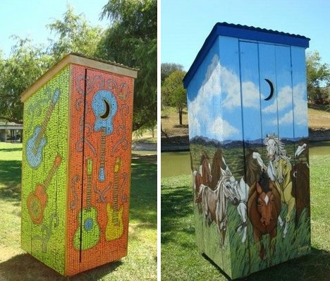 Cool Outstanding In Their Field 10 Outrageous Outhouses Urbanist Largest Home Design Picture Inspirations Pitcheantrous