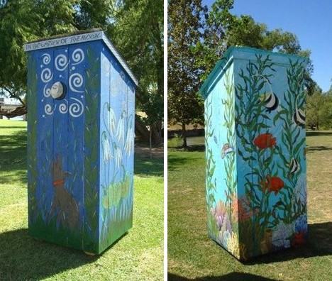 Prime Outstanding In Their Field 10 Outrageous Outhouses Urbanist Largest Home Design Picture Inspirations Pitcheantrous