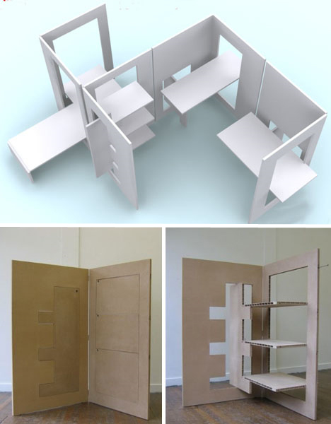 All-in-One Flat-Pack Room