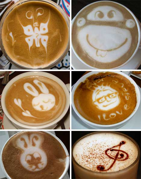 Designer Baristas: 50 Incredible Works of Coffee & Latte Art