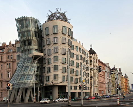 famous architectural buildings around the world. Simple World Dancing Building Prague For Famous Architectural Buildings Around The World U