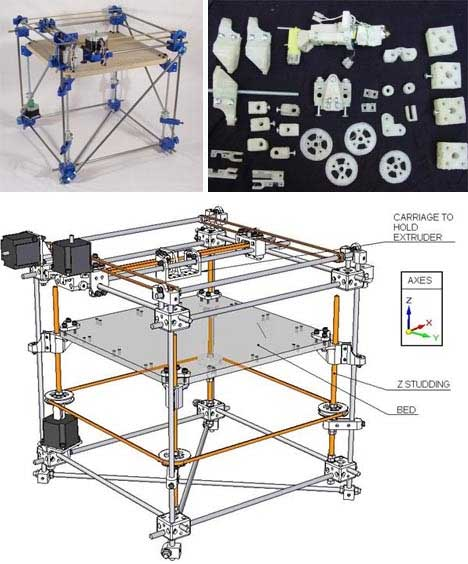 For real 13 futuristic 3d scanner printer designs for 3d printer build plans