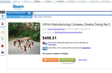 Sears outdoor furniture photoshop fail