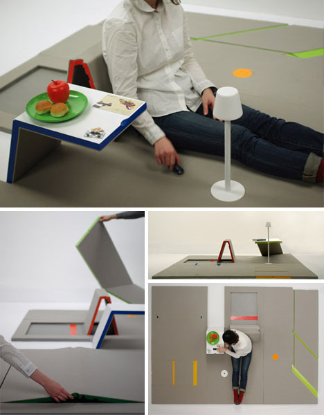 Nice Space Saving Fold Out Furniture Mat