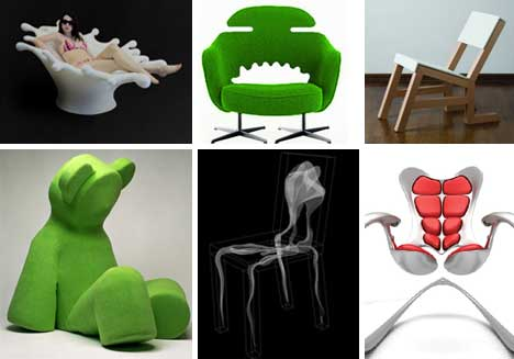 Planet Amusing: Sit on It! 15 (More!) Marvelously Modern Chair Designs