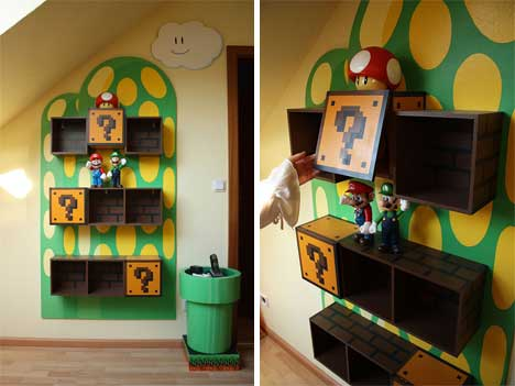 Awesome Super Mario Furniture