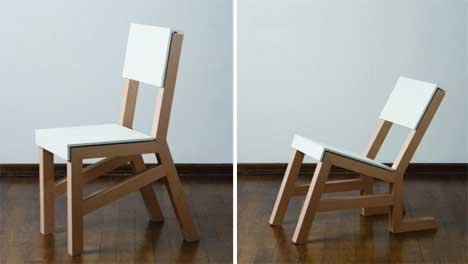 bowing to clever design furniture design chair t50 design