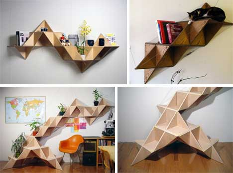 Unique Shelving 25 (more!) unique book shelving & storage solutions | urbanist