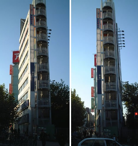 Narrower Towers 20 Of Japans Thinnest Buildings Urbanist