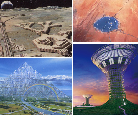 futuretecture from sea cities to space colonies urbanist