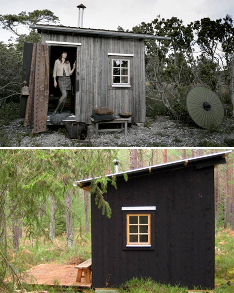 Shrink your footprint 10 little examples of tiny houses for Small footprint cabin