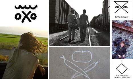 Hoboglyphs Secret Transient Symbols Modern Nomad Codes Urbanist
