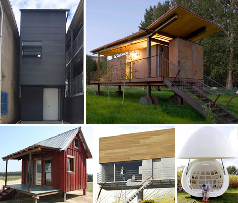 Brilliant Shrink Your Footprint 10 Little Examples Of Tiny Houses Urbanist Largest Home Design Picture Inspirations Pitcheantrous