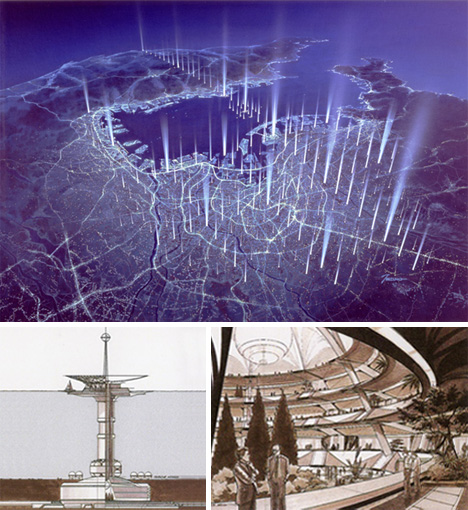 Futuretecture from sea cities to space colonies urbanist for Room planning grid
