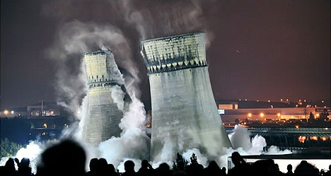 nuclear coverup 10 cool examples of cooling tower art