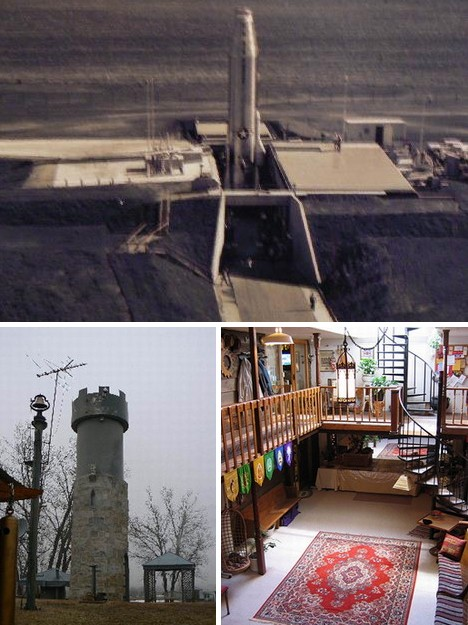Nuclear Family Housing Life In A Real Missile Silo Home