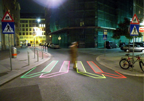 Stop, Pop & Roll: Urban Tape Art by Aakash Nihalani