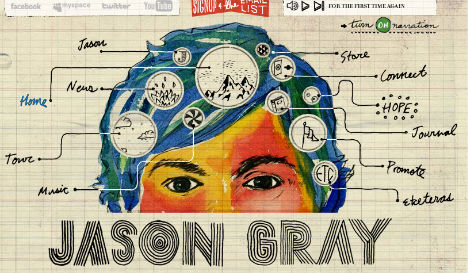 Super Sketchy: 15 Beautiful & Rustic Hand-Drawn Websites | Urbanist